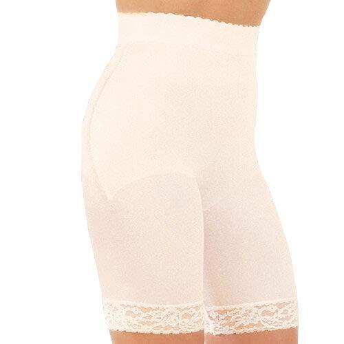 High Rago Waist Brief Panties (Rago Style 518 - High Waist Leg Shaper Light Shaping, S/26 Black)