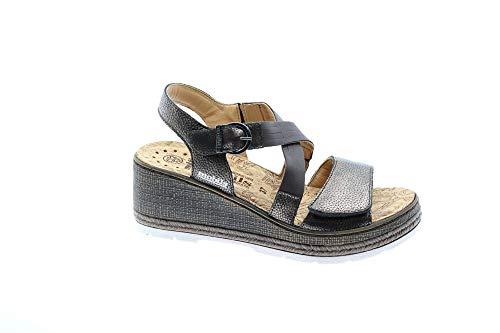 37 Mephisto Sandalo Donna Bella T Cl7951 moro RRTx6