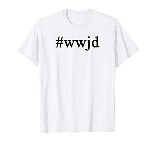 (Hashtag What Would Jesus Do Christian Tshirt)