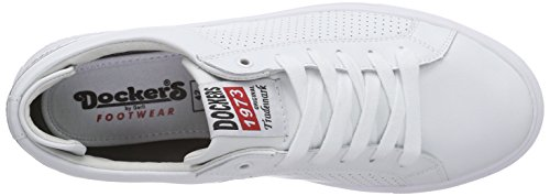 Dockers by Gerli 38tb002-100, Men's Hi-Top Trainers White (Weiss 500)