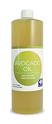 Save $$ MD LIFE Avocado Oil| 100% Pure Cold-Pressed Avocado Oil, Food Grade Avocado Oil for Cooking| Avocado Oil for Hair and Skin| 32 Oz Compare to NOW Foods Avocado Oil from MD.LIFE Essential For You