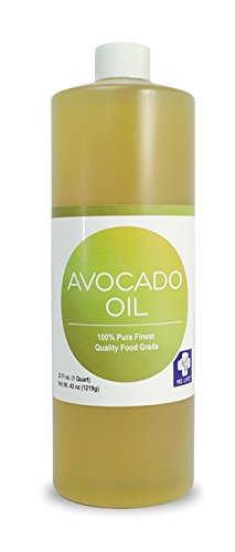 Save $$ MD LIFE Avocado Oil| 100% Pure Cold-Pressed Avocado Oil, Organic, Food Grade Avocado Oil for Cooking| Avocado Oil for Hair and Skin| 32 Oz Compare to NOW Foods Avocado Oil