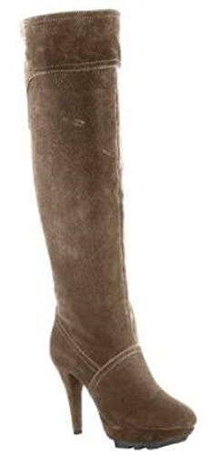 taupe Cuissardes cuir en Taupe chillany qgtRwH