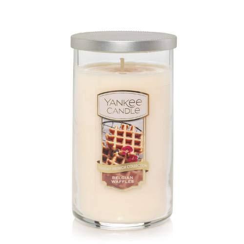 Yankee Candle Sunday Brunch Collection Belgian Waffles 12oz Medium Perfect Pillar Candle