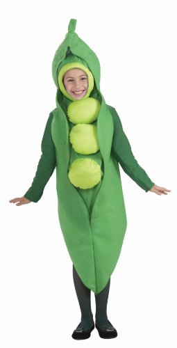 Forum Novelties Fruits and Veggies Collection Peas in a Pod Child Costume, (Easter Costumes Ideas)