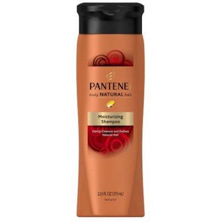 Pantene Truly Natural Shampoo Clarifying 12.6oz (3 Pack)