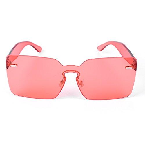sol O caramelos cuadradas de mujer Gafas integradas gris color Pk JAGENIE para de diseño zxOSEwqw