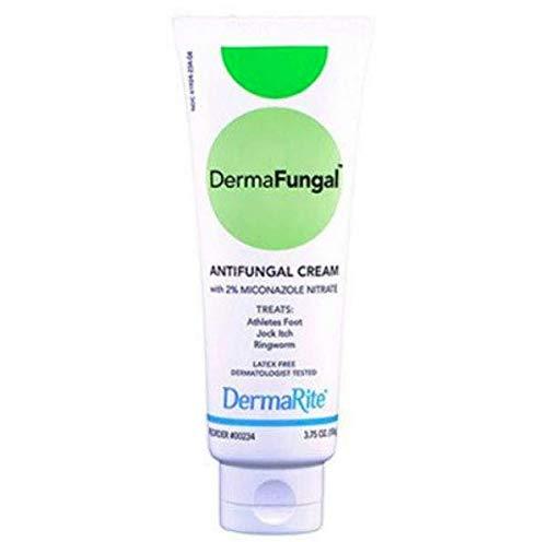 - DermaRite Dermafungal Antifungal Cream, 3.75 oz Tube