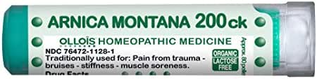 Ollois Homeopathic Medicines, Arnica Montana 200CK Pellets, 80 Count