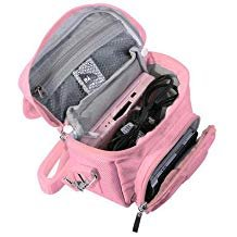 - Orzly Travel Bag for Nintendo DS Consoles (New 2DS XL / 3DS / 3DS XL/New 3DS / New 3DS XL/Original DS/DS Lite/DSi/etc.) - Includes Belt Loop, Carry Handle, Shoulder Strap - Pink