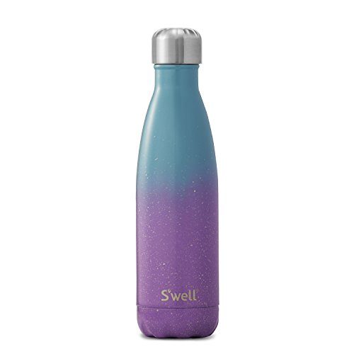 S'well Vacuum Insulated Stainless Steel Water Bottle, 17 oz, Winter Solstice