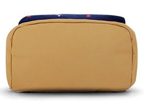 Black Straps Backpack School College Keshi Laptop Cute Reinforced Canvas qUt78