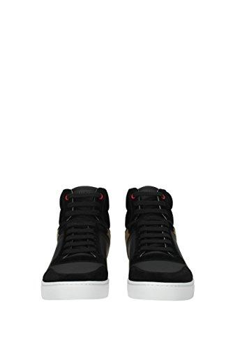 Nero Burberry Sneakers Eu Camoscio 40540 Uomo qxfxAngw