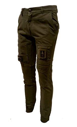 Aeronautica Verde Militare Pantalones Bosco Hombre 39239 rrCqa