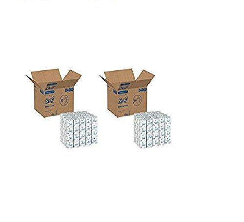 Kimberly-Clark Scott 2-Ply Standard Roll Bathroom Tissue qmMRgh Individually Wrapped Standard Rolls, 2-PLY, White, 2Pack of 80 Rolls (160 Rolls Total)