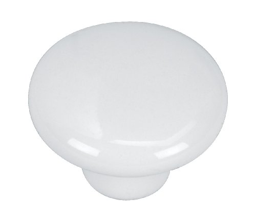Hardware House 48-8981 Porcelain Knob, 1-1/4-Inch