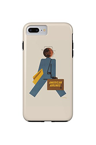 american-airlines-vintage-poster-artist-kauffer-usa-c-1948-iphone-7-plus-cell-phone-case-tough