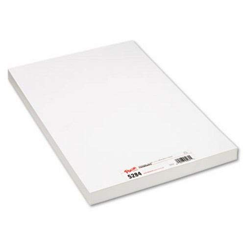 Pacon Medium Weight Tagboard, 18 x 12, White, 100/Pack