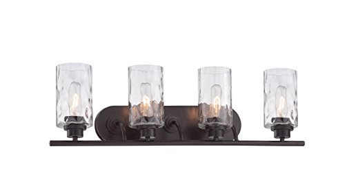 Designers Fountain 87104-OEB Gramercy Park 4 Light Bath Bar -