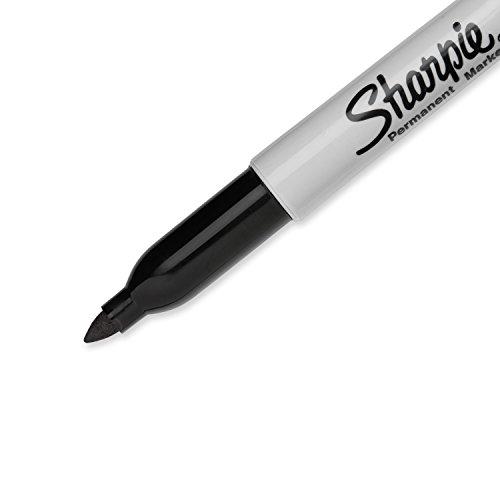 Sharpie Permanent Markers Fine Point Black