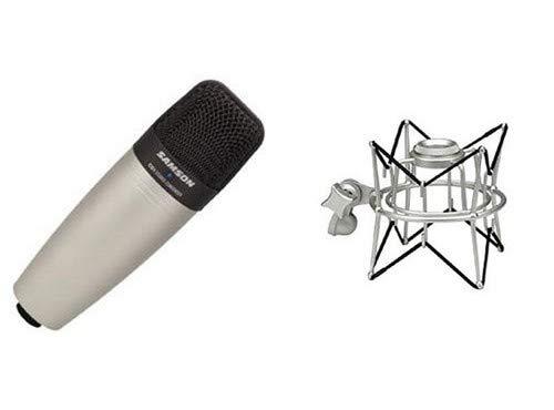 (Samson C01 Condenser Microphone Package with SP01 Spider Mount)