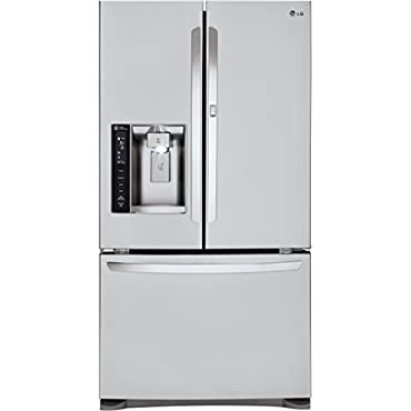 LG LFXS24566S French Door Refrigerator, 24.0 Cubic Feet, Stainless Steel
