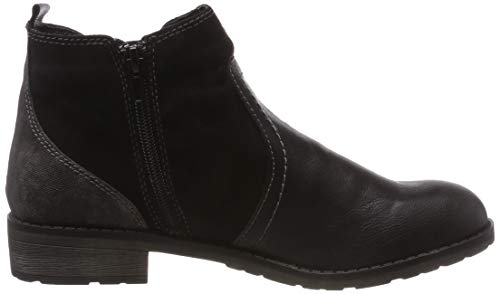 667 Damen 004 Schwarz Black Chelsea KLAIN 253 JANE Boots wf8xgqtaf5