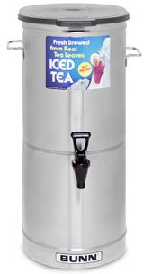 - Bunn Cylinder Style Iced Tea Coffee Dispensers -TDO-5-0001