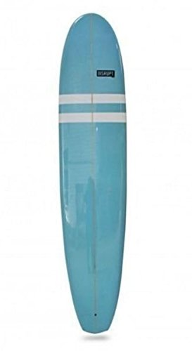 Minimal Surfboard, Blue and White Design, (like DHD, JS, CI)