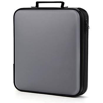 Amazon.com: CD Case, COOFIT 80 Capacity DVD Storage DVD Case ...