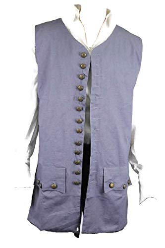 Exact Pirate Vest Jack Sparrow Costume (L) ()