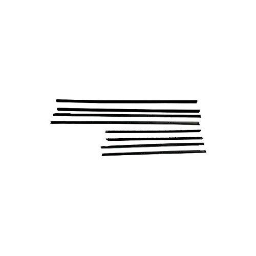 (MACs Auto Parts 60-36185 Belt Weatherstrip Kit - Front & Rear Door Windows - 8 Pieces - 4 Door Sedan & Station Wagon)