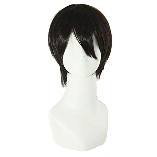 """Short Curly Hair 12"""" Synthetic Wigs 20 Colors Black for sale  Delivered anywhere in USA"""