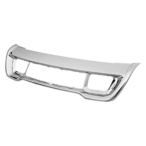 - CPP Chrome Front Bumper Insert for 2014-2015 Jeep Grand Cherokee