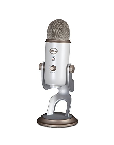 Blue Yeti USB Microphone - Vintage White ()