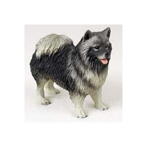 Keeshond - Figurine - Gift for Dog Lovers 38