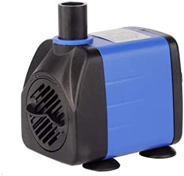 Water Pump Powcan Submersible Water Pump 208Gph 800L//H Ultra-Quiet 15W Fountain Pond Aquarium Fish Tank Pump with 48 Hours Anti Dry Burning High Lift 5.3ft 4.9ft Power Cord 1.5m 1.6m 2 Nozzles