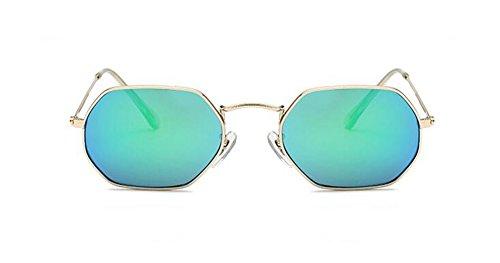 métallique lunettes vintage Bleu Lennon style cercle rond en du Vert inspirées polarisées et de soleil retro F0PaFrBq