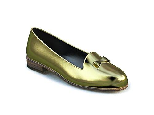 Dis - Lucrezia - Mocasín – Mujer Oro