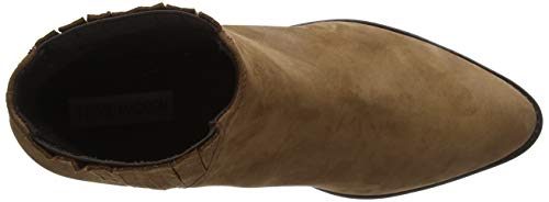 Marrón Chelsea Steve Always 300 Ankleboot Madden camel Para Mujer Nubuck Botas wqFBCq0x