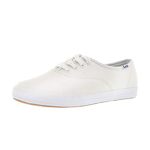 Keds Girls' Champion CVO Fashion Sneaker White 2 M US