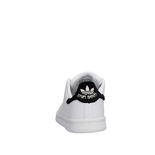 adidas Stan Smith C, Zapatillas de Deporte Unisex Niños Blanco (Ftwbla / Ftwbla / Negbas)