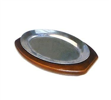 - Sizzling Platter, 12'', Oval, Aluminum(36 Pieces/Unit)
