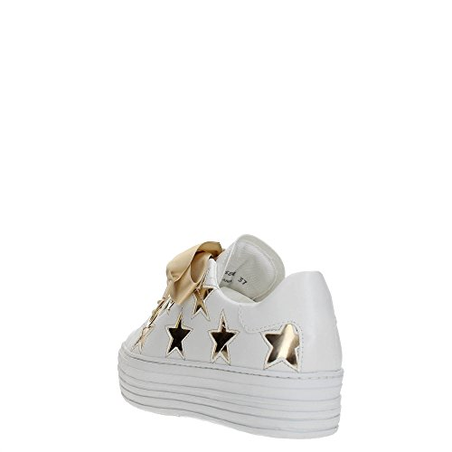 CLE103586 Platinum Mujer Sneakers Cult White Zxnw4nB