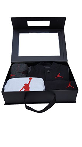 Nike Jordan Baby Boys' Jumpman 4 Piece Bodysuits, Jacket,...
