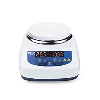 No Heating ONiLAB Magnetic Stirrer with 4PCS Stir Bars,Magnetic Mixer with Stirring Capacity 3000ml