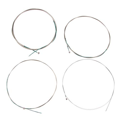 DYNWAVE 4pcs Da Ruan Replacement Steel String for Daruan Chinese Lute Accessory ()