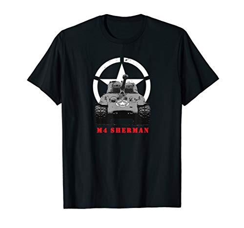 M4 Sherman Tank World War 2 T Shirt