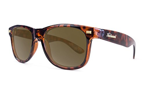 Knockaround Fort Knocks Polarized Sunglasses, Glossy Tortoise Shell / - Shell Wayfarers Tortoise