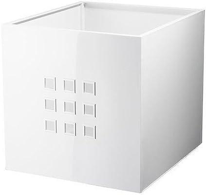Ikea Caja lekman, Color Blanco (para estanterías de Expedit): Amazon.es: Hogar